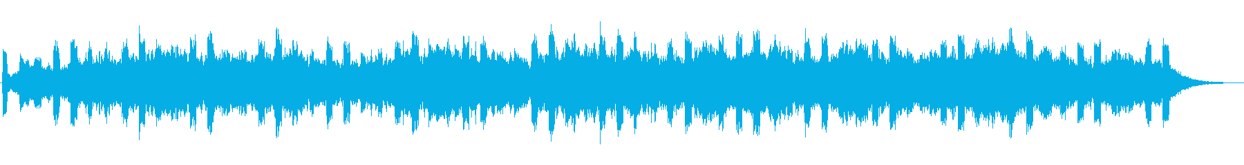 Magnificent jingle's reproduced waveform