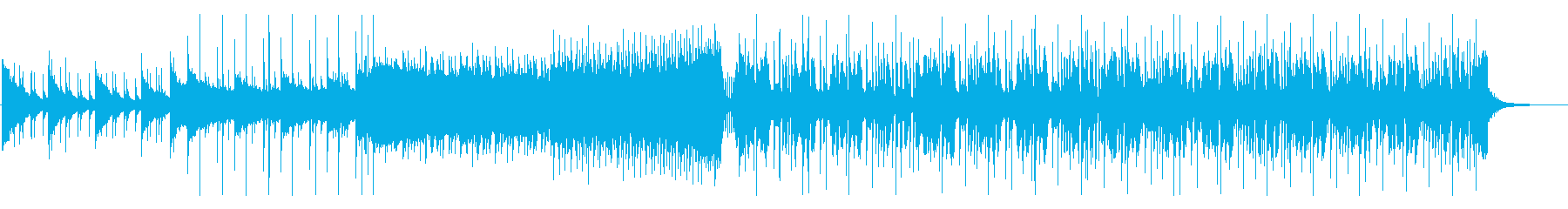 爽やかでポップなFuture Bassの再生済みの波形