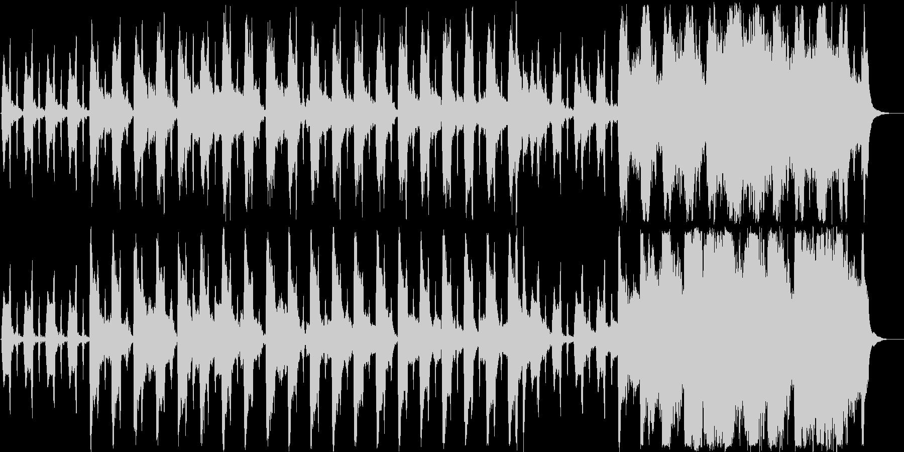 ほのぼのしたシンセ・木琴などの曲短めの未再生の波形