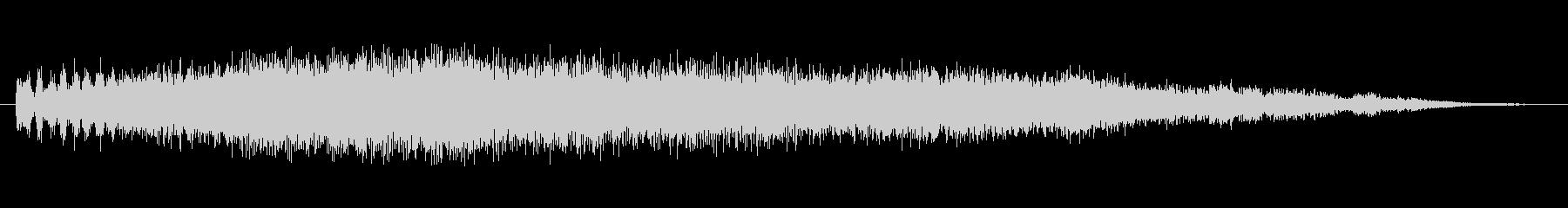 ホラー バズ・クライング・ベルズ03の未再生の波形