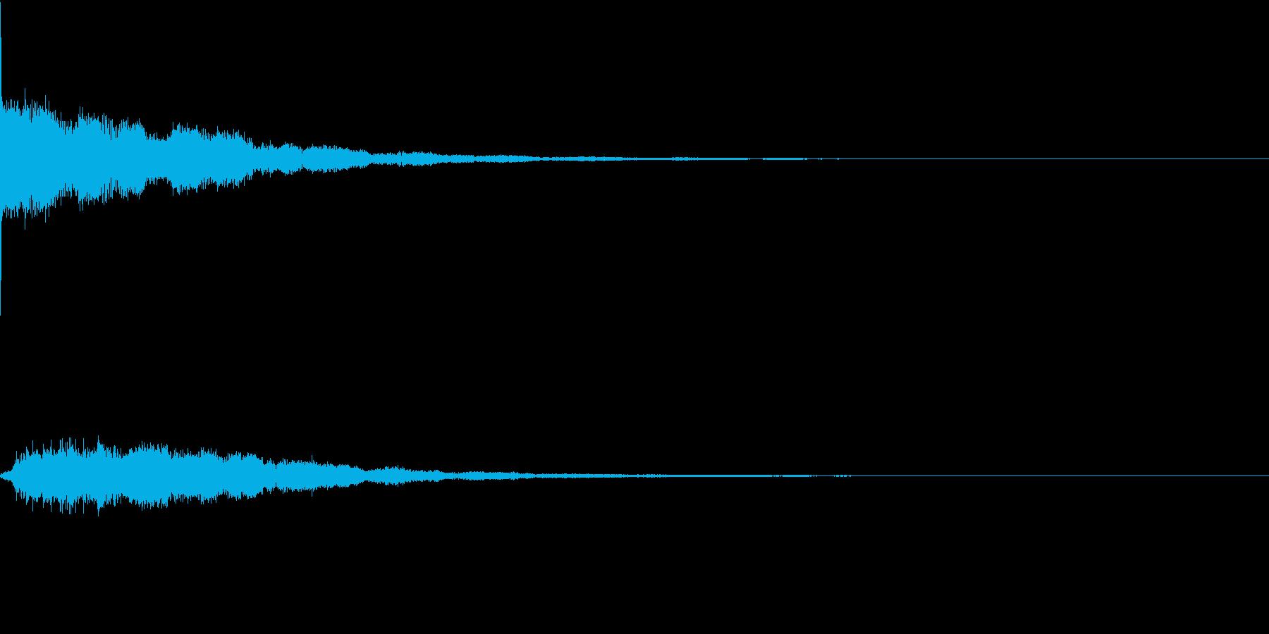 違和感、不穏、不気味な不協和音-C0の再生済みの波形