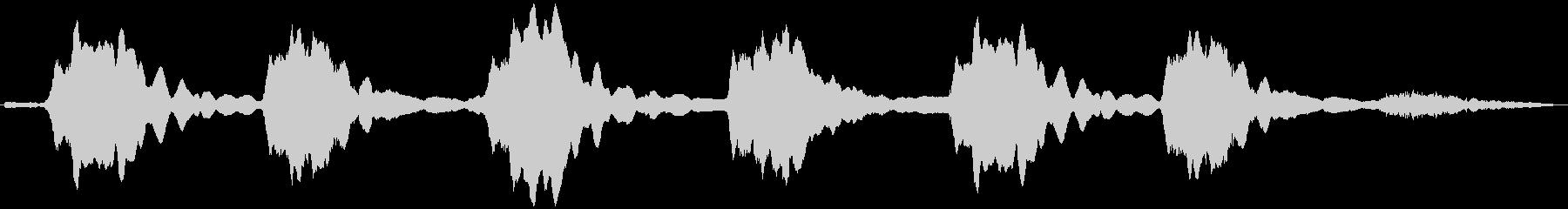 PADS クジラの歌04の未再生の波形