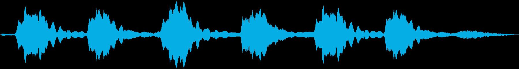 PADS クジラの歌04の再生済みの波形
