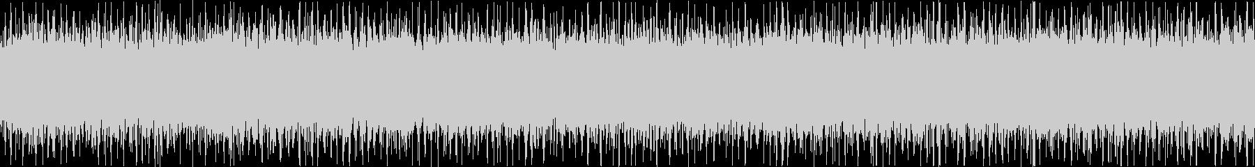 ザァー(FMラジオのノイズB)ループ処理の未再生の波形