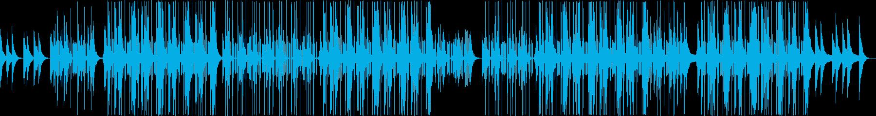 90年代R&Bと、トラップビートの融合の再生済みの波形