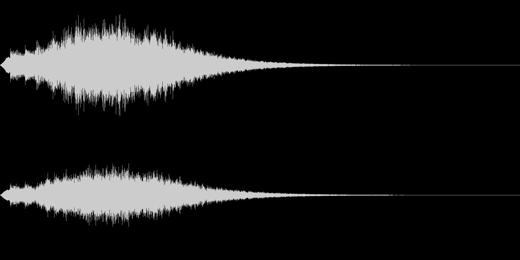 キラキラッ…(上昇/絵本/場面転換)の未再生の波形