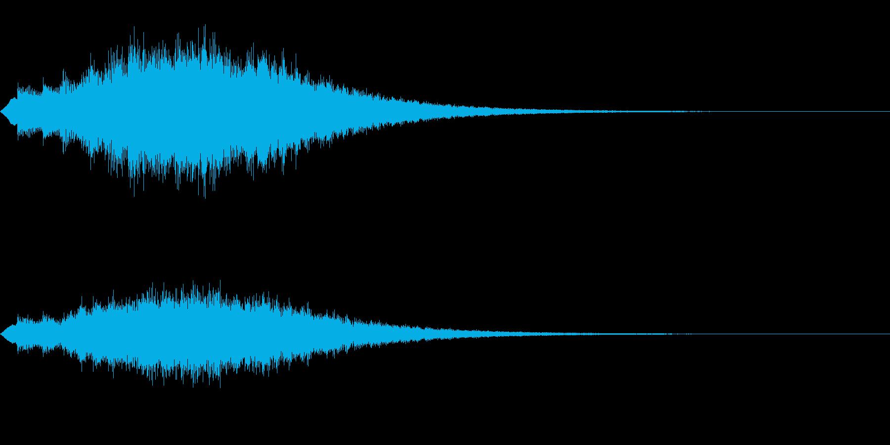 キラキラッ…(上昇/絵本/場面転換)の再生済みの波形