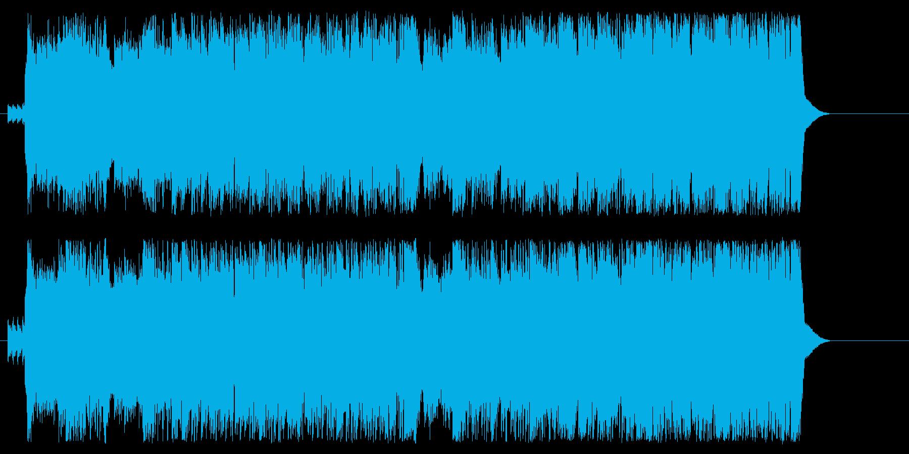 オープニング 登場 元気 PR いきいきの再生済みの波形