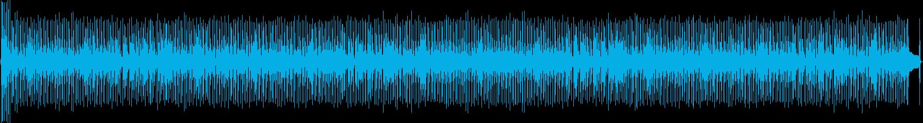 ドラムブラシ、アコースティックギタ...の再生済みの波形