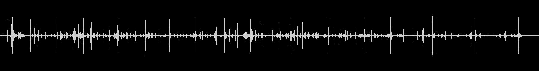 ピッキング、アースおよびグレーベル...の未再生の波形