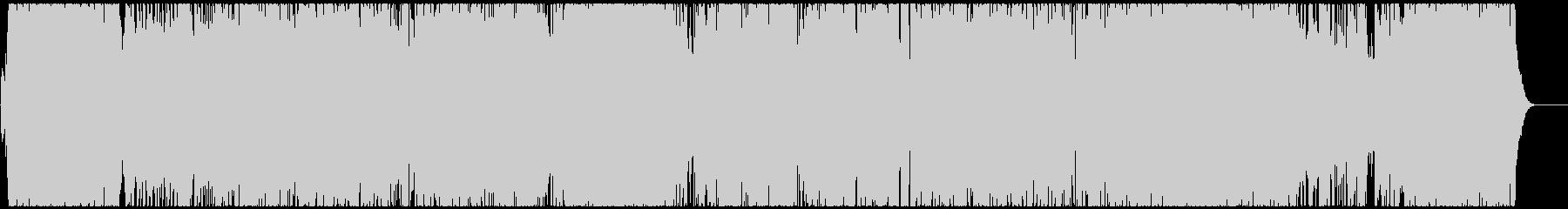 スピード感あふれる変則ピアノトリオの未再生の波形