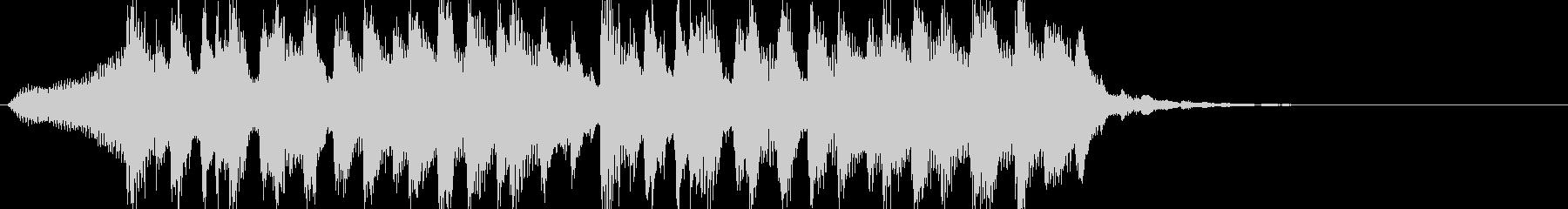 爽やかストリングピアノPOPジングルの未再生の波形