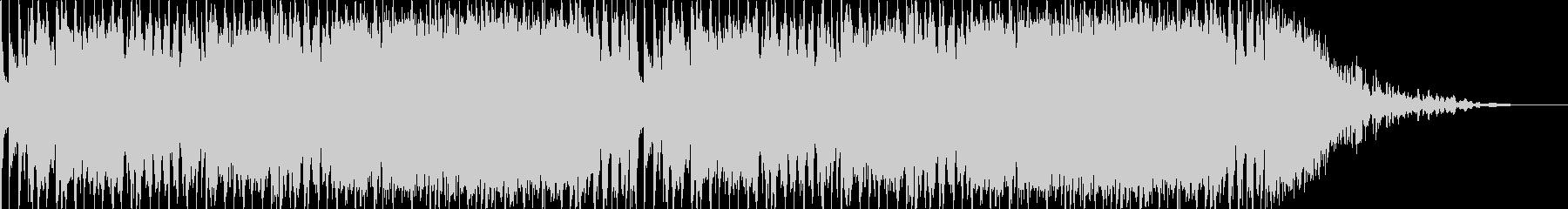 ヘビーなエレキギターのバンドサウンドの未再生の波形