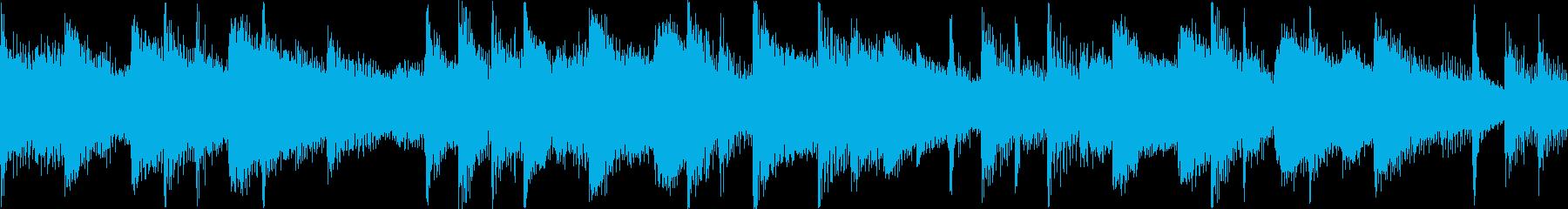ピアノ演奏をリードするポジティブで...の再生済みの波形