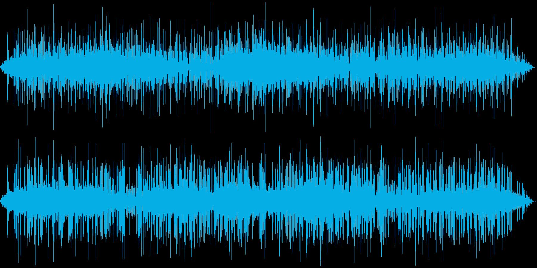 民族音楽に錯覚する自動音 血の通ったロボの再生済みの波形