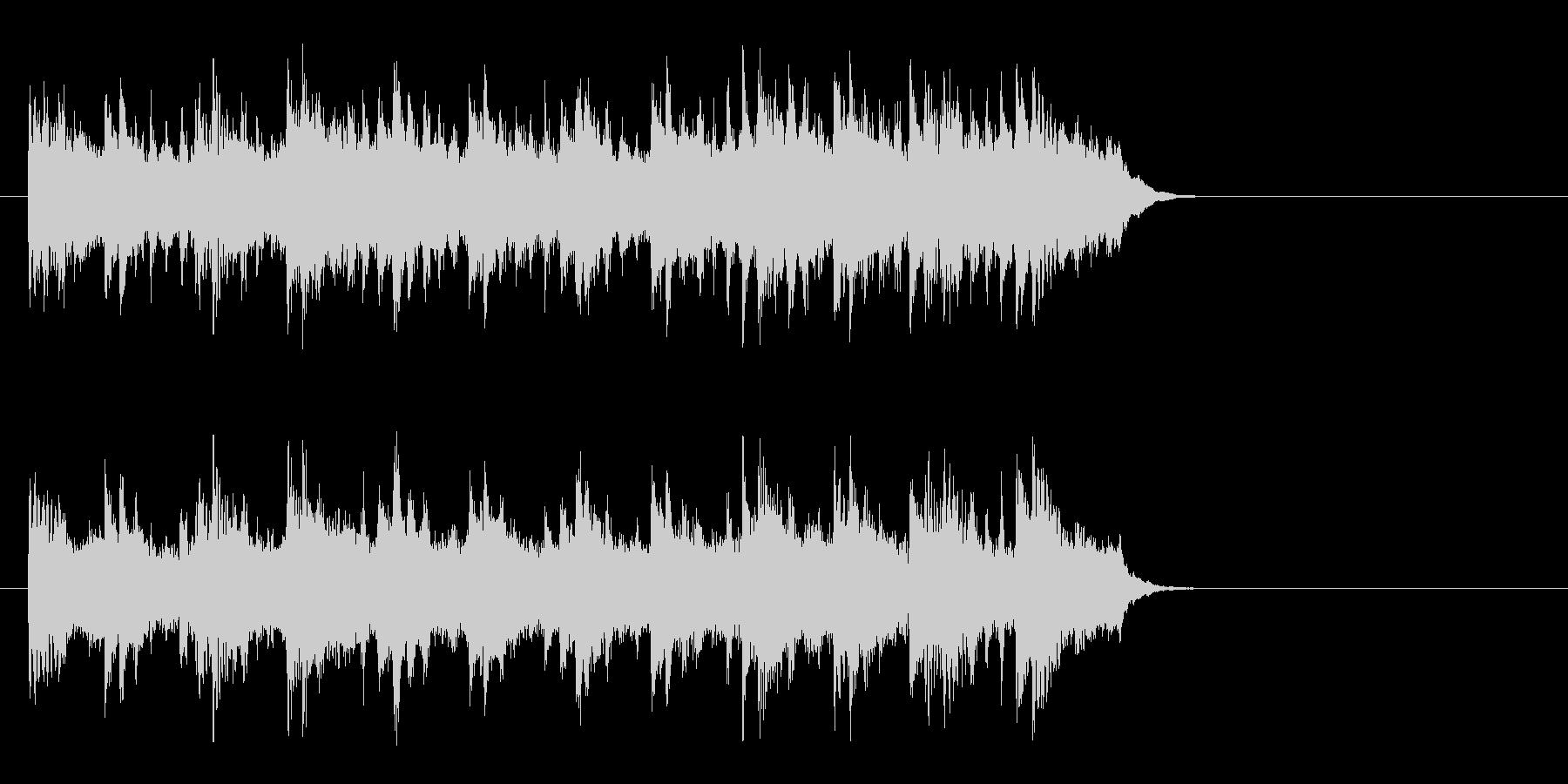 ブライダル風バラード(イントロ)の未再生の波形