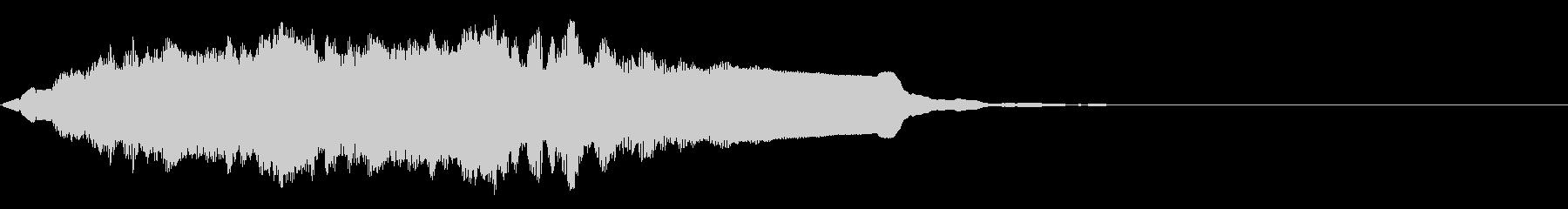 レベルアップ音/ゲーム/アプリの未再生の波形