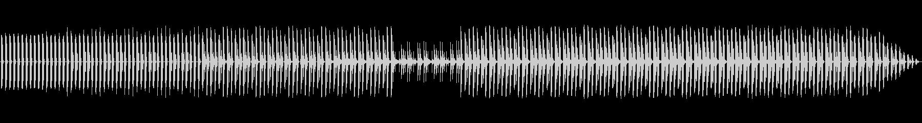 神秘的、暗い。不気味なシンセ。繰り...の未再生の波形