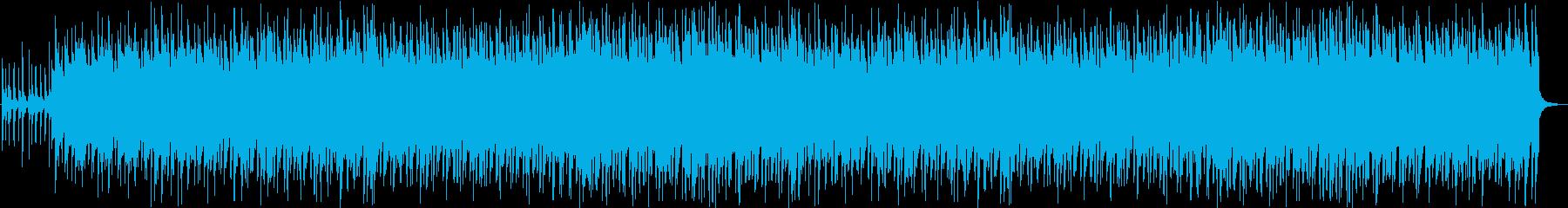 夏に降る雨をイメージしたポップなBGMの再生済みの波形