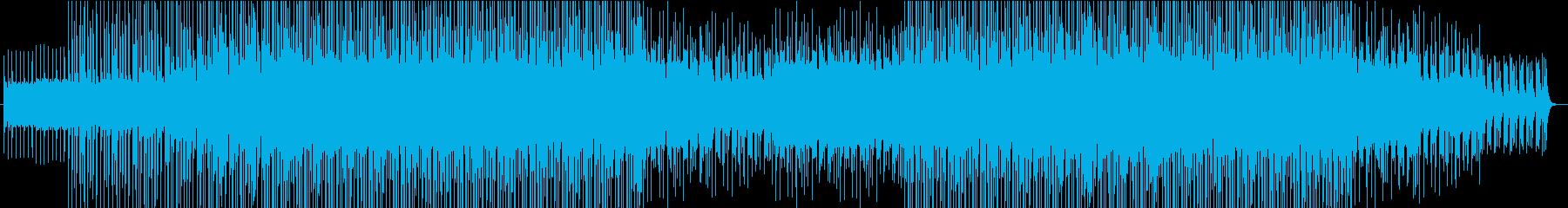 トロピカルなシンセ音源を使ったハウスですの再生済みの波形