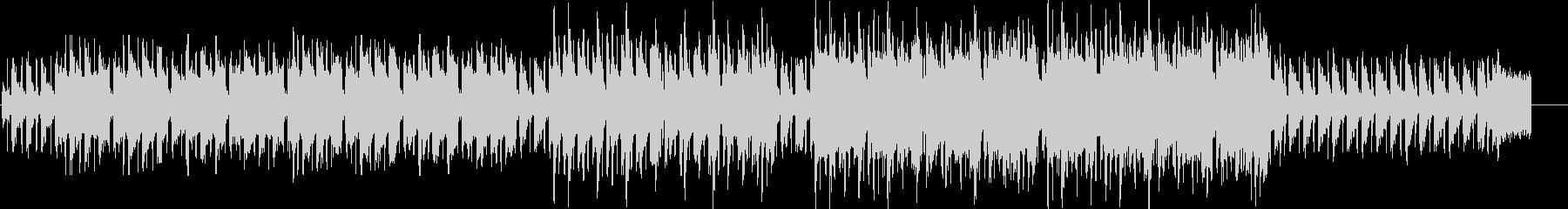 アコーディオンが奏でる哀愁感のあるワルツの未再生の波形
