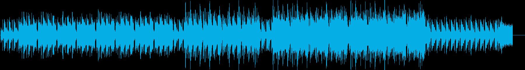 アコーディオンが奏でる哀愁感のあるワルツの再生済みの波形