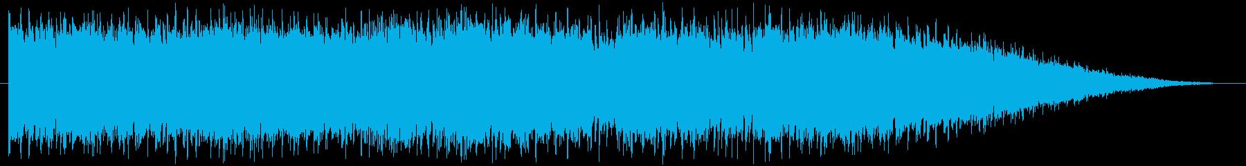 情熱的なメロディのハードロックの再生済みの波形
