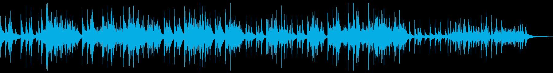 ノスタルジックで落ち着きのあるピアノソロの再生済みの波形