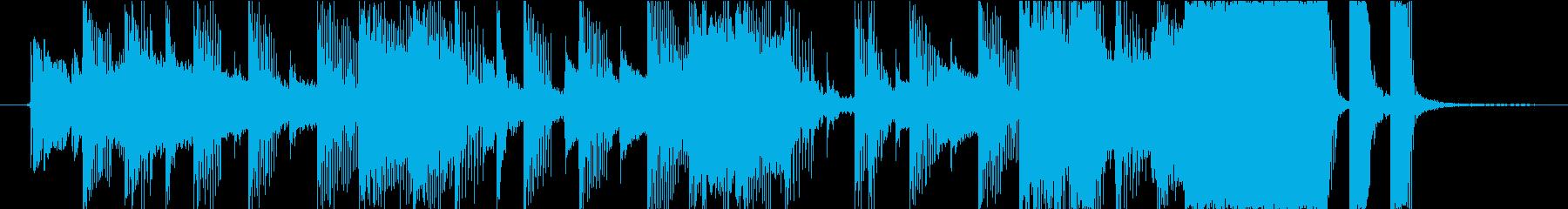 15秒CMの13 今日もバリバリ頑張るの再生済みの波形