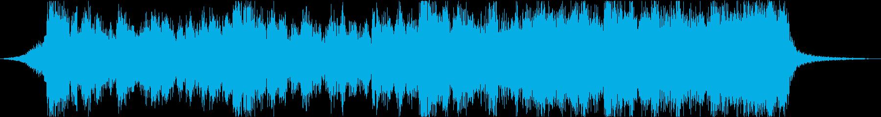 勇壮なハリウッド風エピックトレーラーfの再生済みの波形