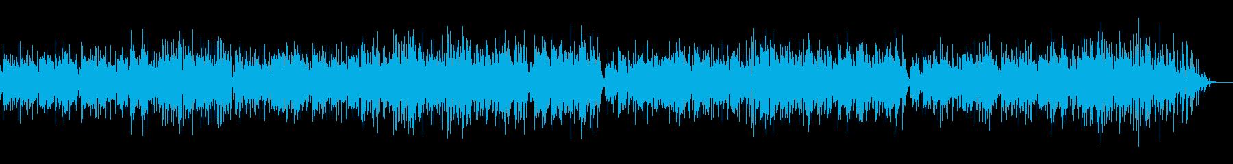 爽やかなアコギ(ナイロン)によるインストの再生済みの波形