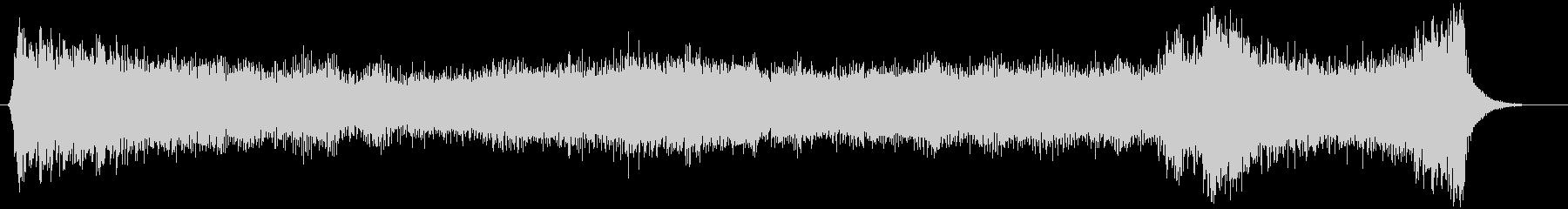 ハロウィン向け15秒ジングル オルガン1の未再生の波形