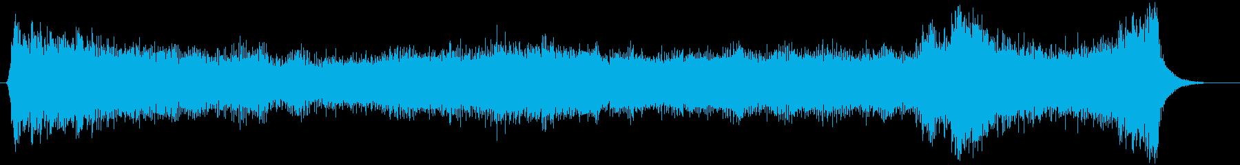 ハロウィン向け15秒ジングル オルガン1の再生済みの波形