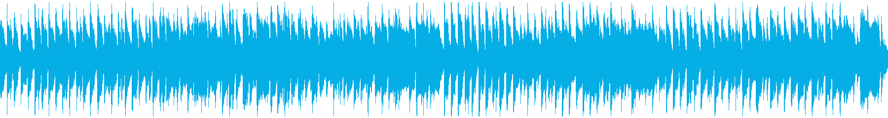 ほのぼのリコーダーのポップス ※ループ版の再生済みの波形