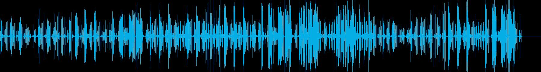 ■シンセ・Eピアノ・まぬけであほっぽい曲の再生済みの波形