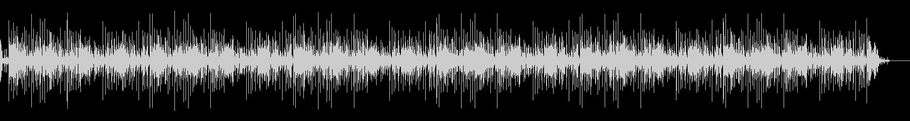 スチールドラムの明るい曲の未再生の波形