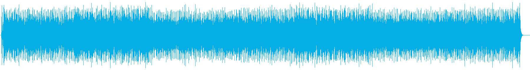 わくわく感のシンセ・ドラムなどのサウンドの再生済みの波形