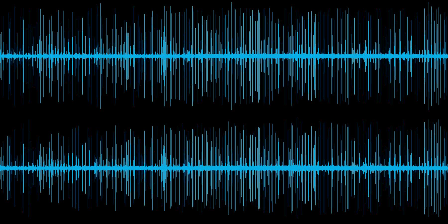雨上がりの排水路に滴る水の音2 ループ の再生済みの波形