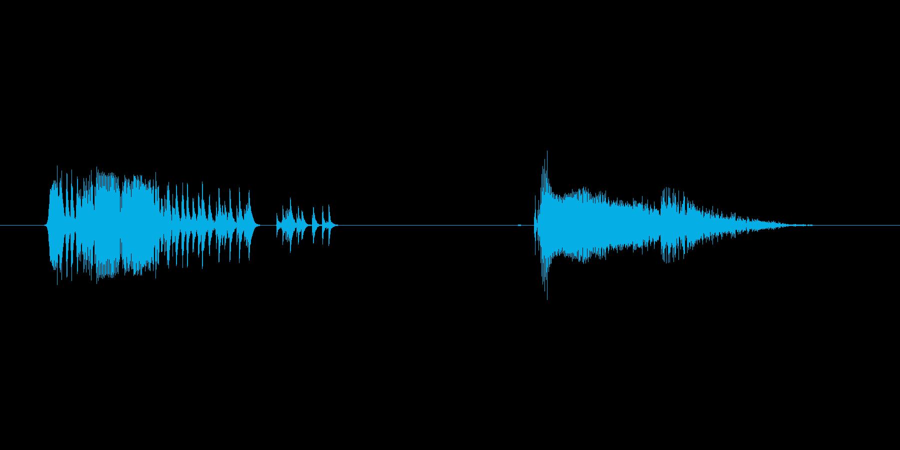 あくび1(男の子)の再生済みの波形