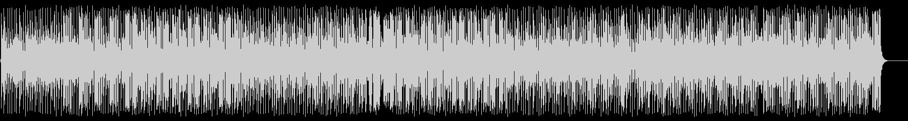 トロピカルでリズミカルな南国曲の未再生の波形