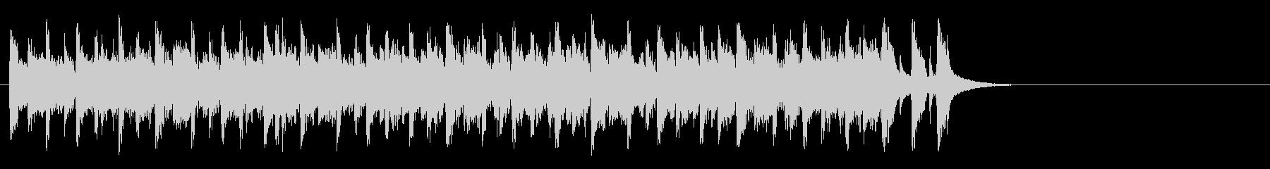 軽やかなフュージョン(イントロ)の未再生の波形