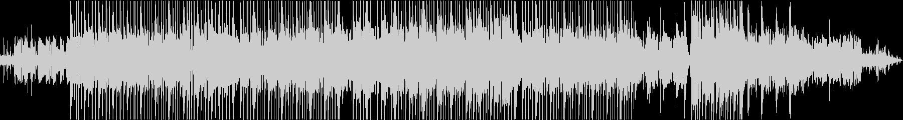 レトロ・ジャジーでチルでLoFiなBGMの未再生の波形