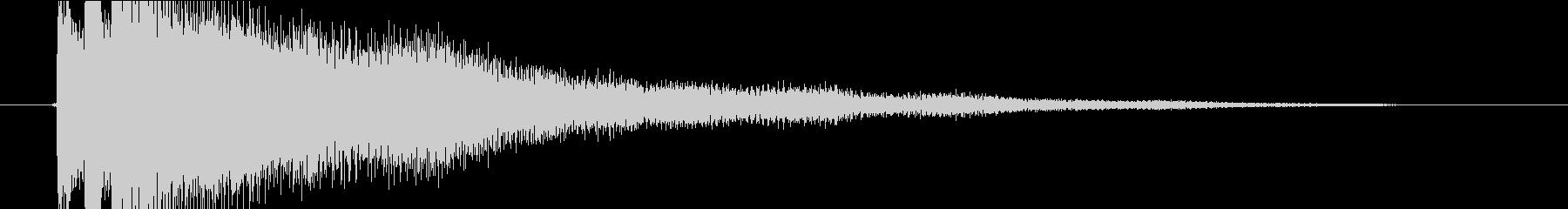 楊琴/中国/伝統楽器/アイキャッチ/展開の未再生の波形
