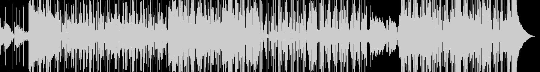 オシャレR&B・後半リズム変化・シンセ無の未再生の波形