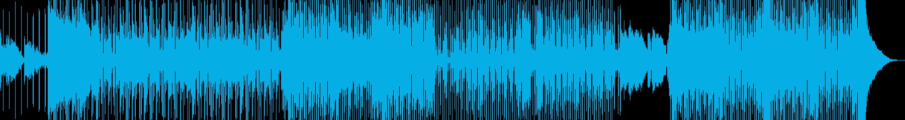 オシャレR&B・後半リズム変化・シンセ無の再生済みの波形