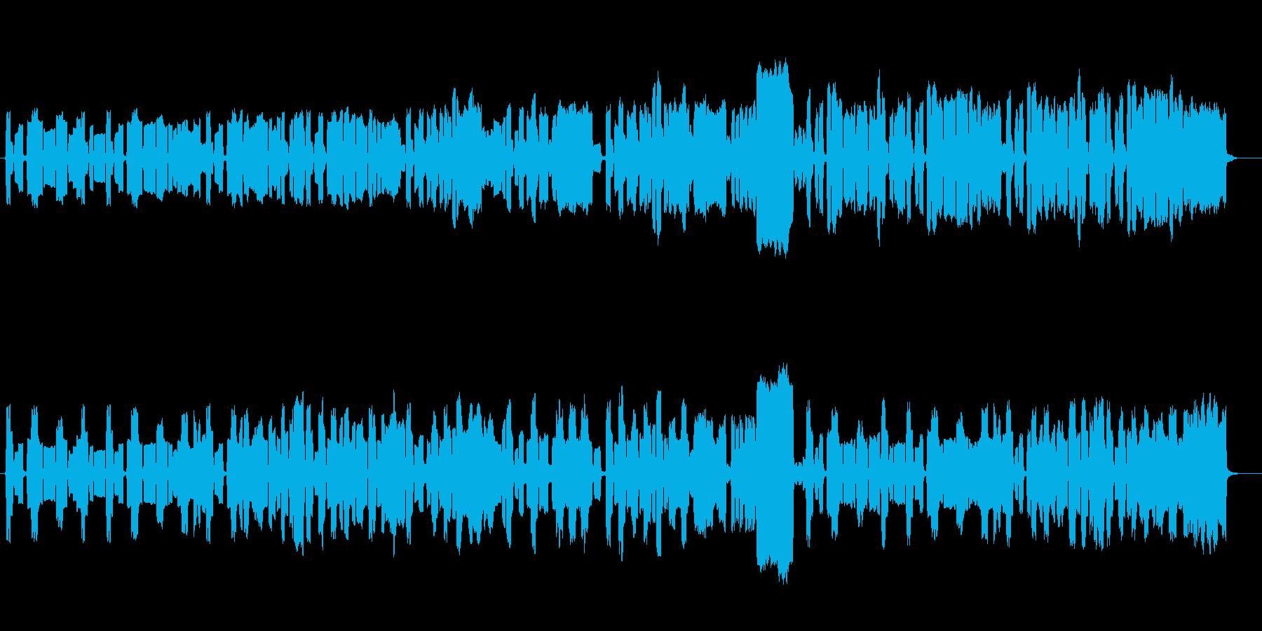 フルートクラリネットバスーン陽気な三重奏の再生済みの波形