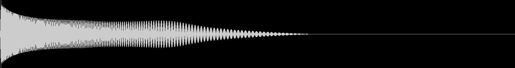Retro ゲームのアタック音 1の未再生の波形