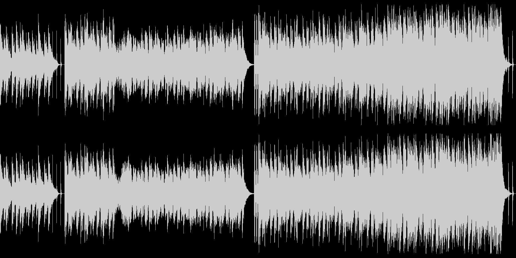 ゆるい系ファンタジーなRPGバトル楽曲の未再生の波形