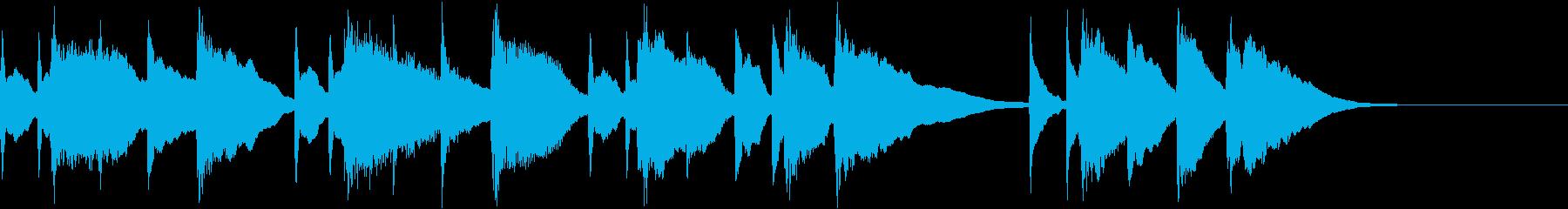 誕生日の曲_和風アレンジ_琴の再生済みの波形