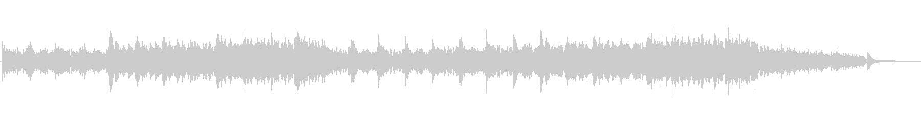 ピアノ・アンビエント(ドラムなし)の未再生の波形